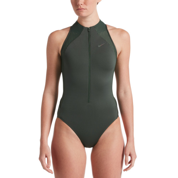 Nike Women Two Color Womens Swim One Pieces Swimsuits