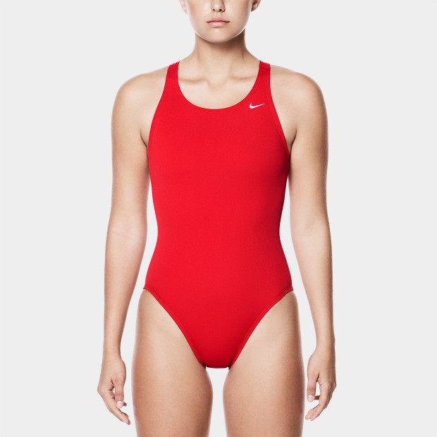cfc2af1c7a4 Nike Poly Solid Fast Back One-Piece