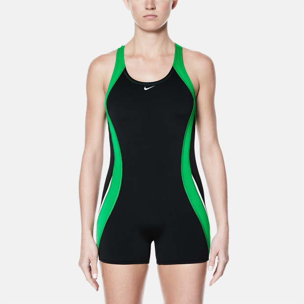 45c717734f21 Nike Poly Solid Power Back Leg Suit