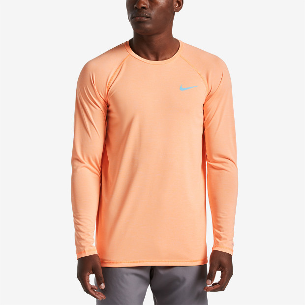 fe92db21 Nike Heather Long Sleeve Hydroguard