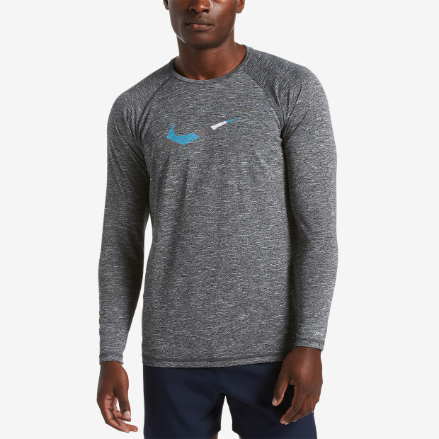 92709c90 Nike Heather Mash Up Long Sleeve Hydroguard