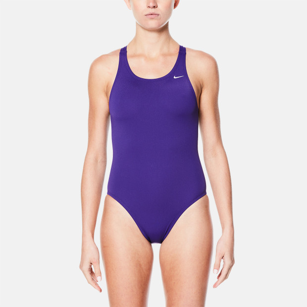 6735d8798c8 Nike Nylon Solid Fast Back One-Piece