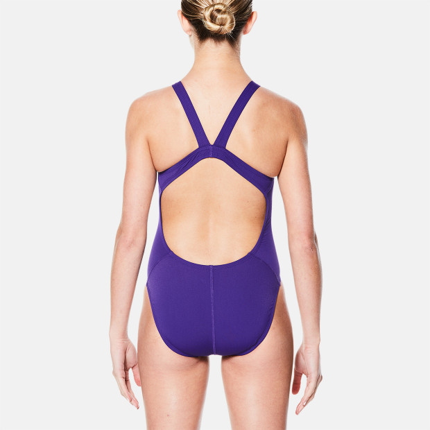 43e5041684 Nike Nylon Solid Fast Back One-Piece