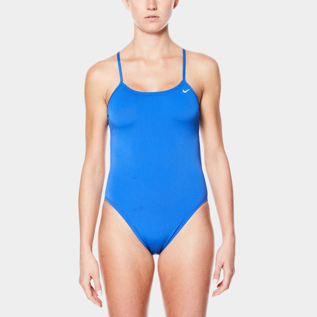 8834db70d4b8f Nike Poly Solid Cut-Out One-Piece