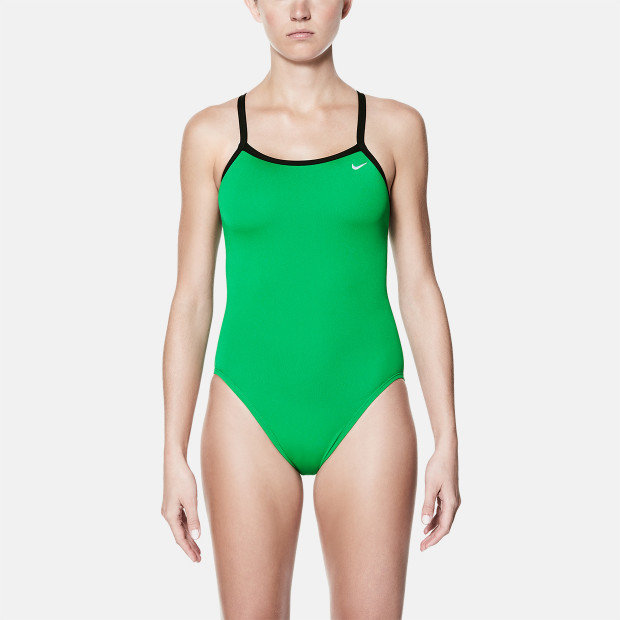 cd91fcd83aef Nike Poly Solid Racerback One-Piece